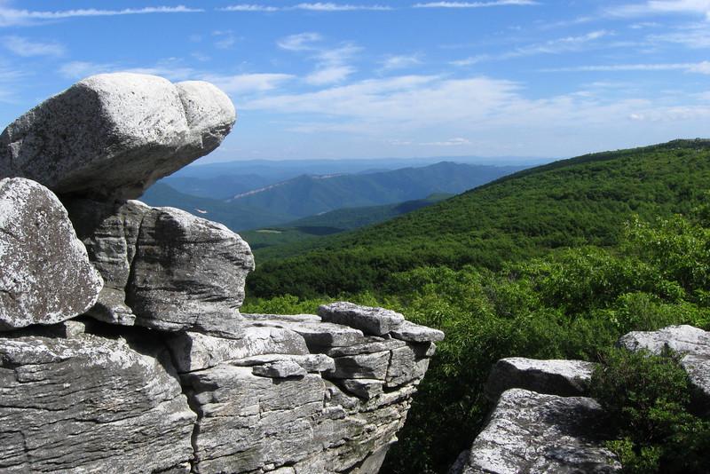 Bear Rocks - Dolly Sods Wilderness  (0.5 mile; d=0.51)
