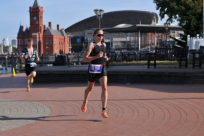 Cardiff Triathlon - Olympic Womens Run