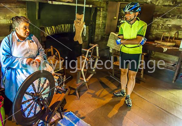 Blue Ridge Parkway Bike Ride - ACA - Day 2