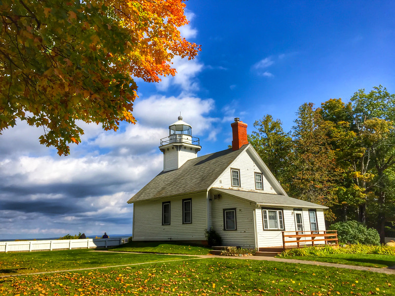 Old Mission Lighthouse in Michigan