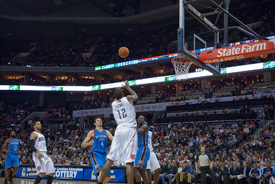 Oklahoma Thunder vs Charlotte Bobcats 12-21-10 Qcitymetro.com/Jon Strayhorn