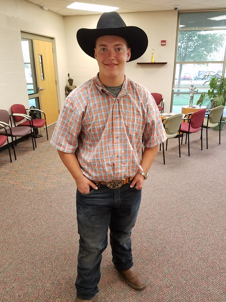 SPIRIT WEEK WEDNESDAY - COWBOY DAY  091918