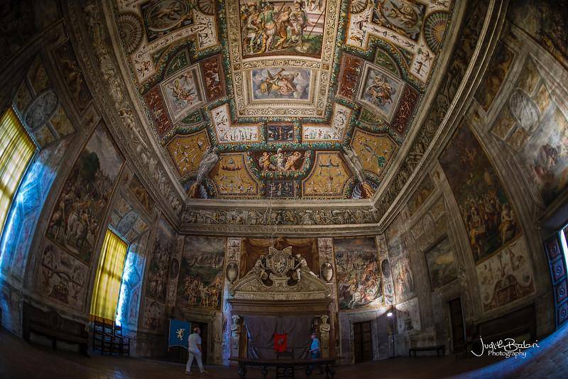 Rocca dei Rossi di san Secondo, Parma, Italy