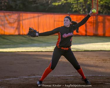 Varsity Softball vs Mount Vernon 4/10/17