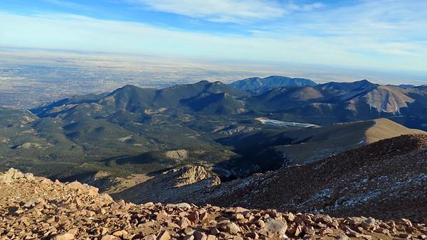 November 17 - 25, 2017:  Heading back to Colorado .  .  .