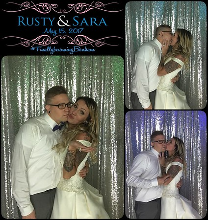 Rusty & Sara Get Hitched!