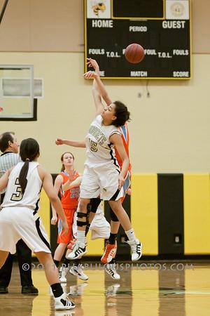 Girls Varsity Basketball # 22- 2011