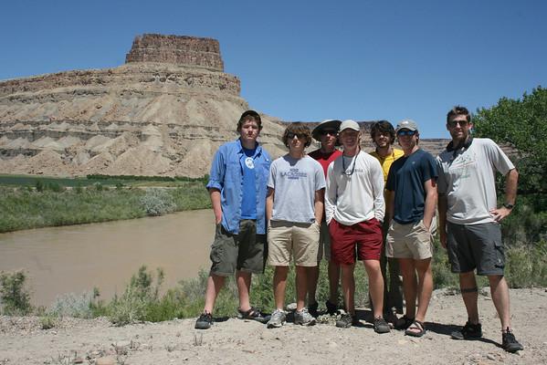 Desolation Canyon Rafting Trip