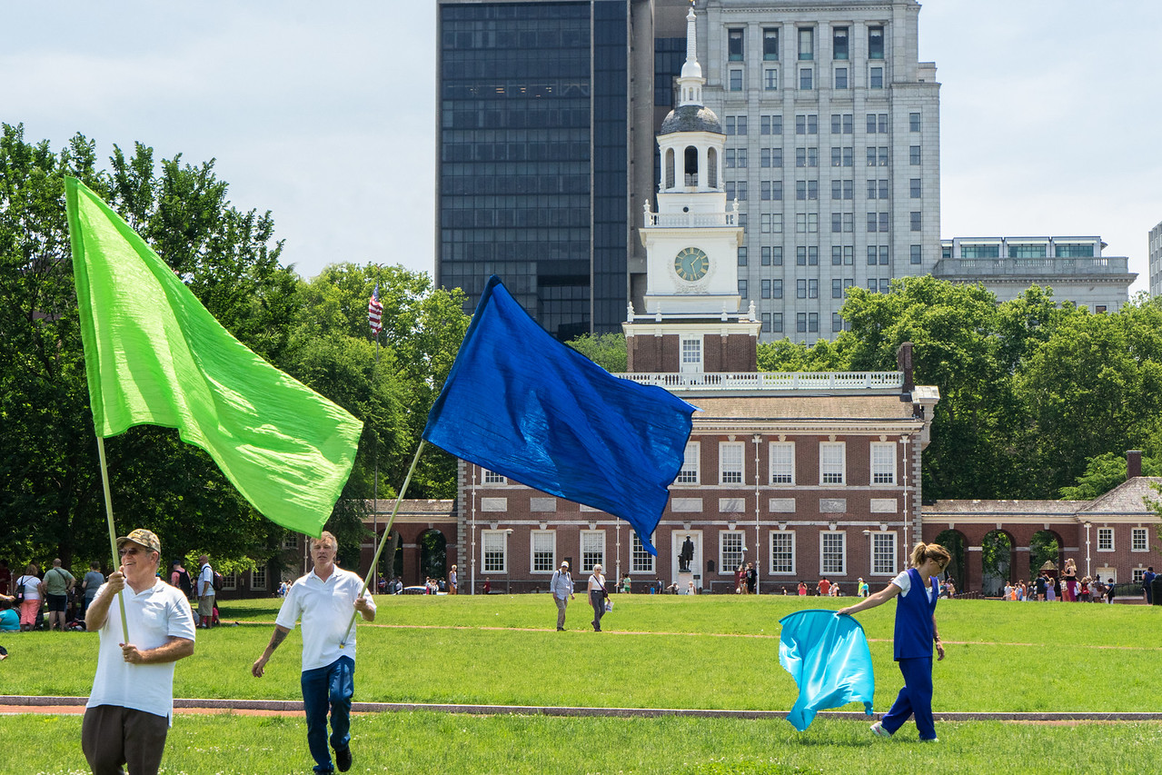 Philadelphia Independence Hall Park
