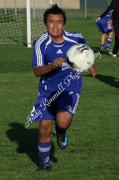 Villa Park Boys JV Soccer Jan 30 2009