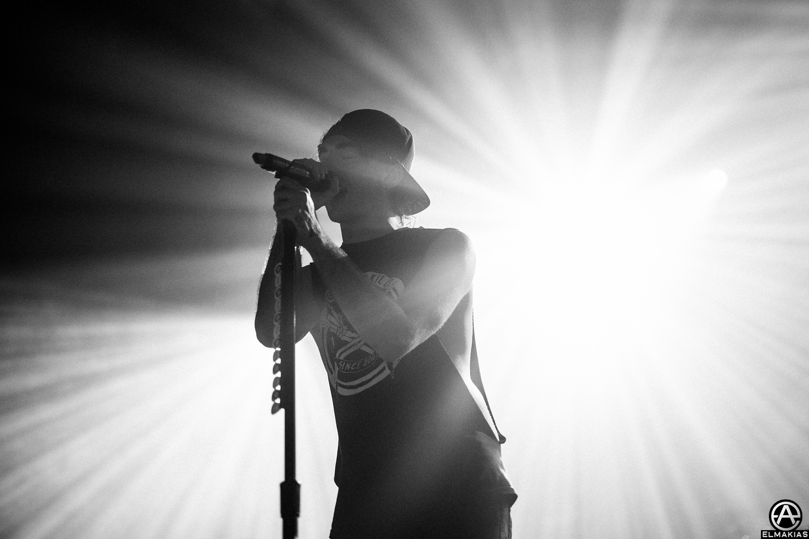 Alex Gaskarth of All Time Low on The Future Hearts Tour by Adam Elmakias