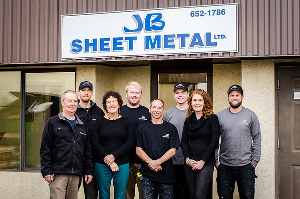 JB Sheet Metal Headshots