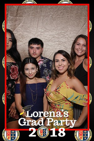Lorena's Grad Party Mirror Booth at East Chicago Marina