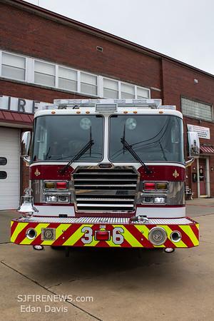 Millville Fire Dept. (Cumberland County NJ), Engine 36, Investigation 30, Car 35, FM30