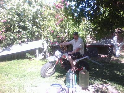 Matt's new camp bike