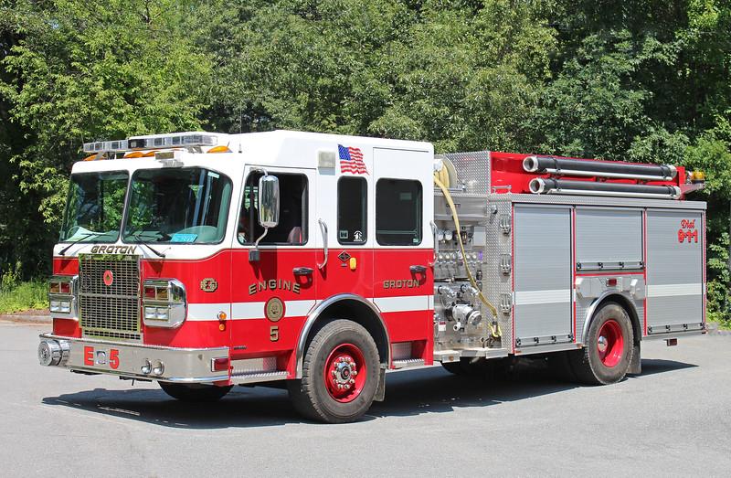 Engine 5 2007 Spartan / Crimson 1500 / 1250