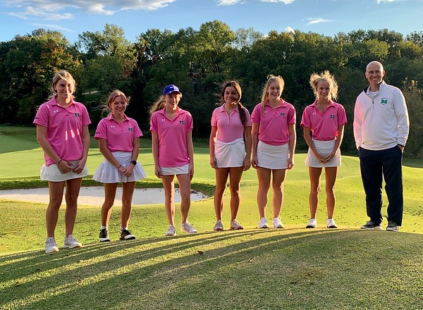 Varsity Girl's Golf vs Kirkwood 9/29/2020  Win 146-153