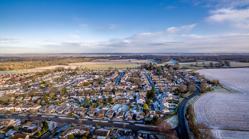 Hassocks from the Air 6