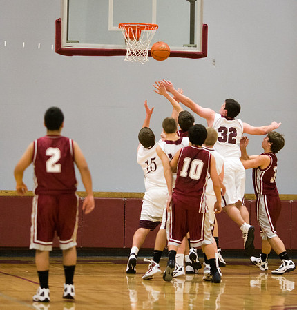 Montesano HS vs. Hoquiam HS, mens jv, December 20, 2011