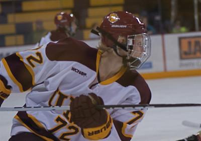 2011 02 19: Festivities, UMD Ws Hockey, Senior Night
