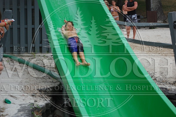 July 22 - Waterslide