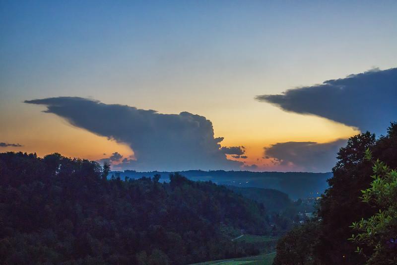 Gewitterwolken | Thunderstorm clouds, Jura