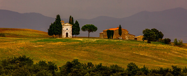 Tuscany - Cappella di Vitaleta - 2018