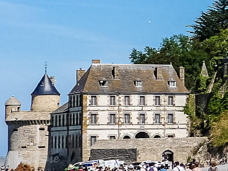 Hotel at Mont Saint Michel