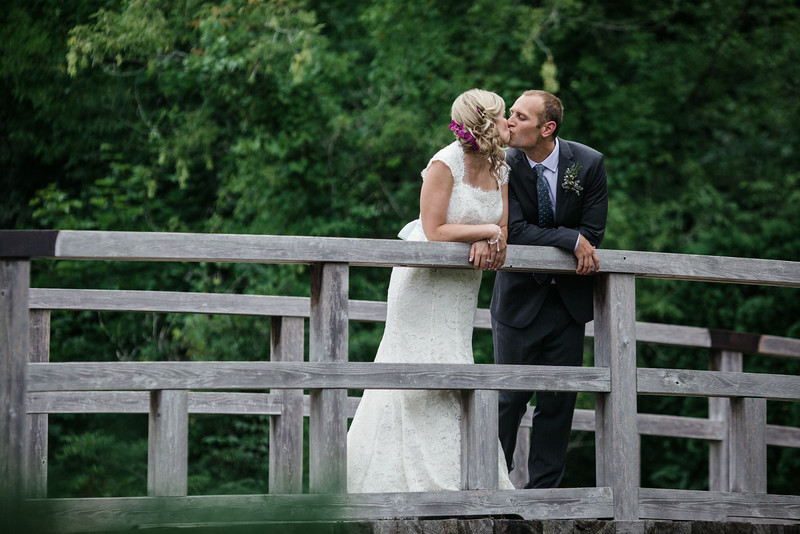 Couples session at Anderson Japanese Gardens which was followed by a reception at Prairie Street Brewhouse