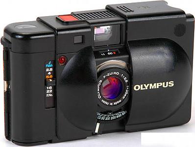 Olympus XA, 1979