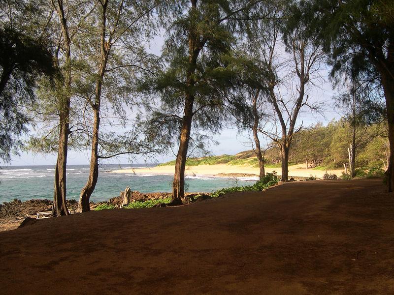 Deserted Kawailoa Bay