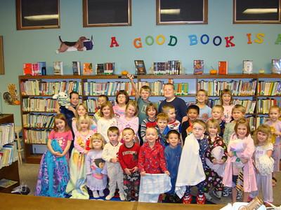 2009-11-18 Bassett Library - Pajama Party