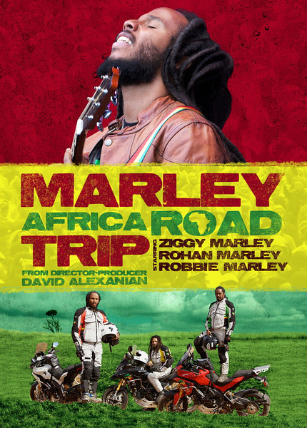 """1/7: Bob Marley's sons Ziggy, Rohan, and Robbie travelled to Africa last summer (2010) to make a documentary for the Discovery Channel. The documentary, """"Marley Africa Road Trip,"""" was aired on Discovery World on November 2nd 2011."""