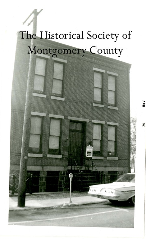 . This photo from the Historical Society of Montgomery County shows Historical Hall in Norristown in 1962. It was once the home of the Historical Society and before that was Norristown Municipal Hall. It was demolished for the annex.