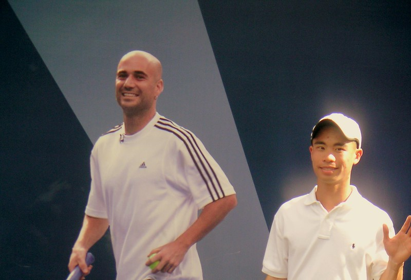 Jacky and Agassi (Farewell)