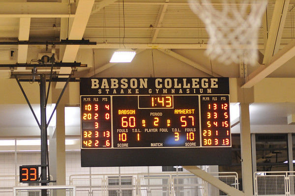 babson mens basketball 1.11.2010