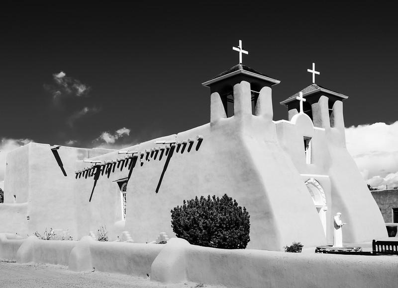 San Francisco de Asis Church in Ranchos de Taos, New Mexico