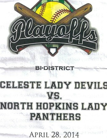 LBD Softball vs. North Hopkins - Photos by Lee Smith