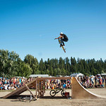 BMX Pro Riders Chew Up the Ramp!