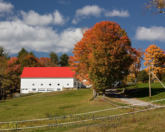 Fall Foliage New Hampshire and Vermont