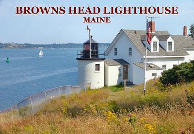 Browns Head Lighthouse, Vinalhaven, Maine