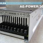 SKU: AE-POWER/36/11, Switched-mode 220V Power Supply Output DC 36V 11A