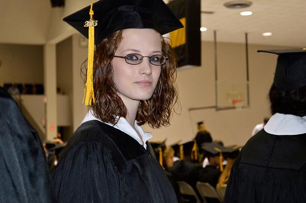 Carley's 2013 graduation