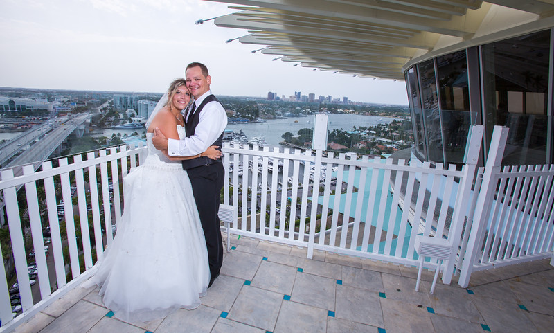 Brody and Dasha, Hyatt Regency Pier 66