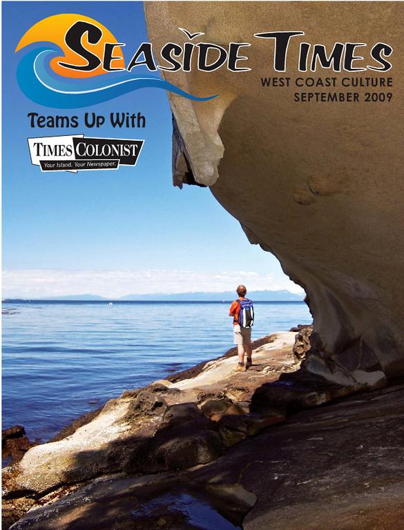 """""""Seaside Times"""" magazine cover shot, September 2009"""