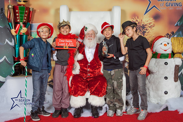 12.20.16 AEG Season of Giving's Community Holiday Party at the Los Angeles Convention Center.