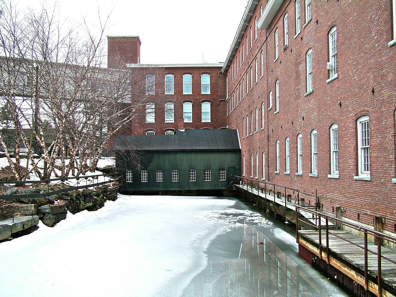 Boott Dam Gate House - Lowell, MA