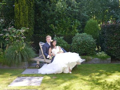 Bruiloft Laura en Clint 2013