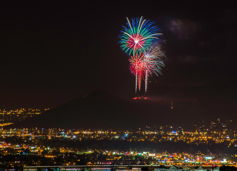 A-Mountain on Independence Day, Tucson