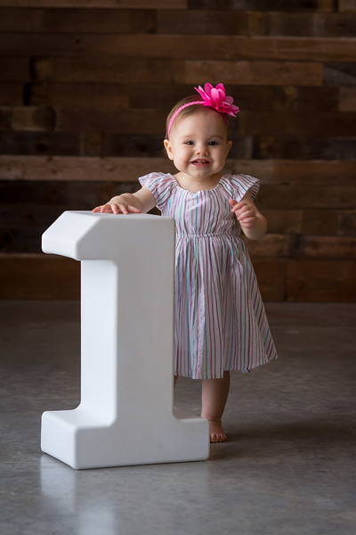 Charlotte is ONE!